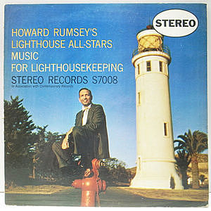 レコード画像:HOWARD RUMSEY / Music For Lighthousekeeping