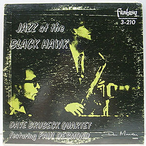 レコード画像:DAVE BRUBECK / PAUL DESMOND / Jazz At The Blackhawk