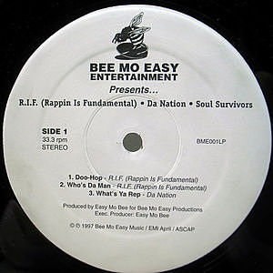 レコード画像:Various / Bee Mo Easy Entertainment Presents...