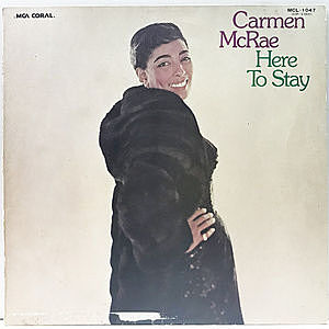 レコード画像:CARMEN McRAE / Here To Stay