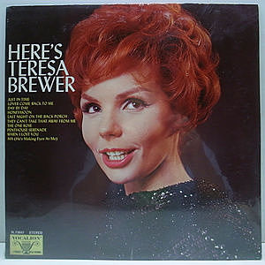 レコード画像:TERESA BREWER / Here's Teresa Brewer