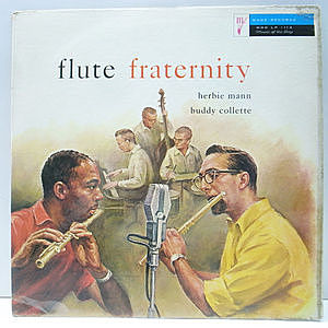 レコード画像:HERBIE MANN / BUDDY COLLETTE / Flute Fraternity