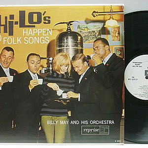 レコード画像:HI-LO'S / Happen To Folk Songs