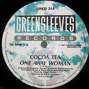 レコード画像:COCOA TEA / One Away Woman