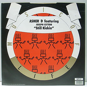 レコード画像:ASHER D / JOSEPH COTTON / Still Kickin'