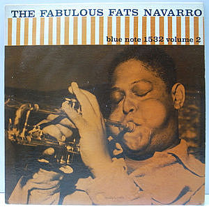 レコード画像:FATS NAVARRO / The Fabulous Fats Navarro Volume 2