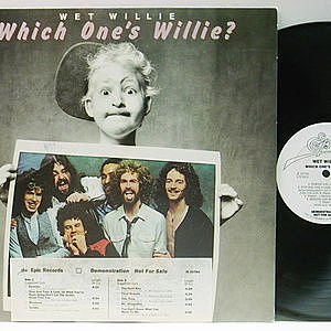 レコード画像:WET WILLIE / Which One's Willie?
