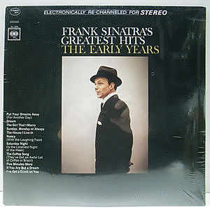 レコード画像:FRANK SINATRA / Frank Sinatra's Greatest Hits The Early Years