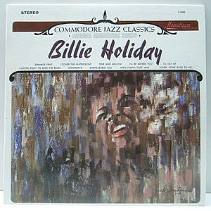 レコード画像:BILLIE HOLIDAY / Commodore Jazz Classics