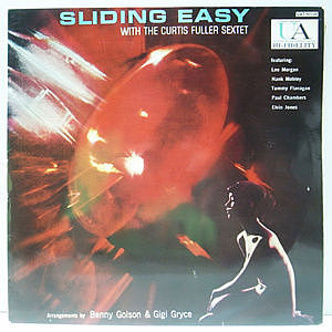 レコード画像:CURTIS FULLER / Sliding Easy