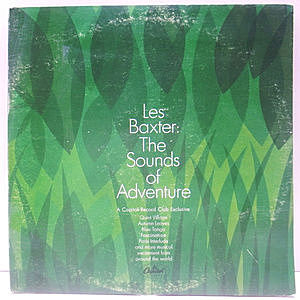 レコード画像:LES BAXTER / The Sounds Of Adventure