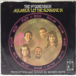レコード画像:5TH DIMENSION / Let The Sunshine In / Don'tcha Hear Me Callin' To Ya