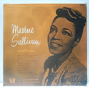 レコード画像:MAXINE SULLIVAN / Leonard Feather Presents Maxine Sullivan, Vol. II