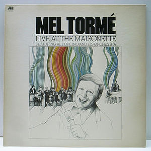 レコード画像:MEL TORME / Live At The Maisonette