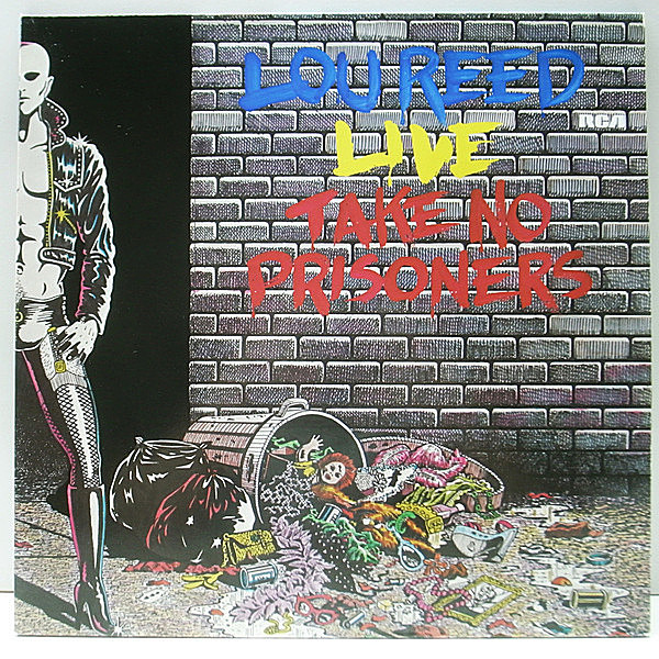 レコードメイン画像:【Walk On The Wild Sideほか】2LP LOU REED Live Take No Prisoners (RCA) ルー・リード/ライブ A.T.C.Q. ネタ