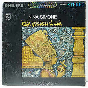 レコード画像:NINA SIMONE / High Priestess Of Soul