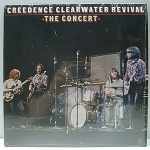 レコード画像:CREEDENCE CLEARWATER REVIVAL / The Concert