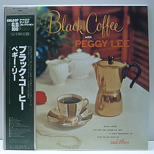 レコード画像:PEGGY LEE / Black Coffee