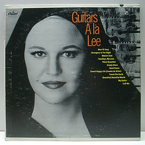 レコード画像:PEGGY LEE / Guitars Ala Lee