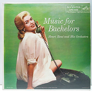 レコード画像:HENRI RENE / Music For Bachelors