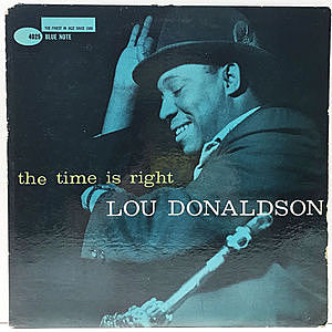 レコード画像:LOU DONALDSON / The Time Is Right