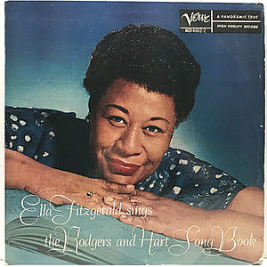 レコード画像:ELLA FITZGERALD / Sings The Rodgers And Hart Song Book