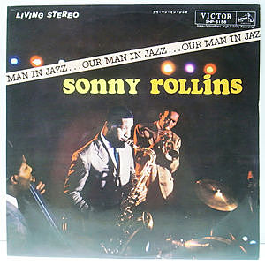 レコード画像:SONNY ROLLINS / Our Man In Jazz