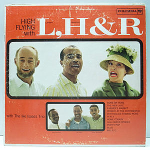 レコード画像:LAMBERT, HENDRICKS & ROSS / High Flying