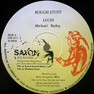 レコード画像:LUCHI / MICHAEL BAILEY / Rough Stuff