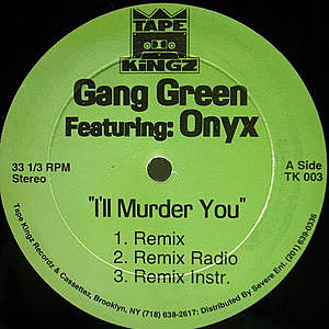 レコード画像:GANG GREEN / I'll Murder You