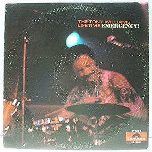 レコード画像:TONY WILLIAMS / Emergency!