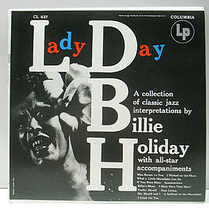レコード画像:BILLIE HOLIDAY / Lady Day