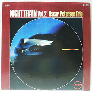 レコード画像:OSCAR PETERSON / Night Train Vol. 2