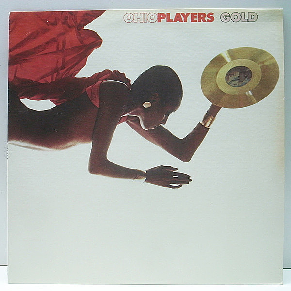 レコードメイン画像:【Sweet Sticky Thing, Skin Tight 収録】美品!! USプレス Ohio Players Gold (Mercury) Fire, Love Rollercoaster ほか ベストアルバム LP