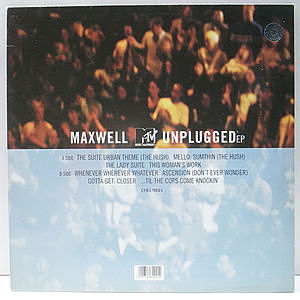 レコード画像:MAXWELL / MTV Unplugged EP