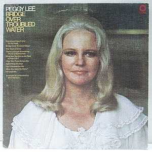 レコード画像:PEGGY LEE / Bridge Over Troubled Water
