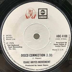 レコード画像:ISAAC HAYES / Disco Connection / St. Thomas Square