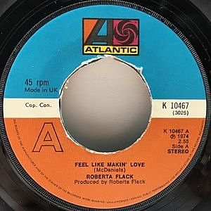 レコード画像:ROBERTA FLACK / Feel Like Makin' Love / Conversation Love