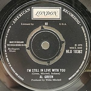 レコード画像:AL GREEN / I'm Still In Love With You / Old Time Lovin'
