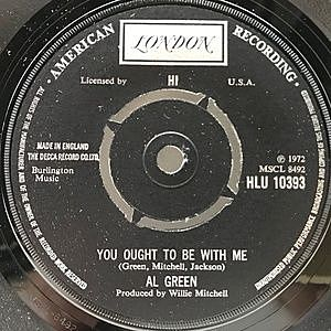 レコード画像:AL GREEN / You Ought To Be With Me / What Is This Feeling