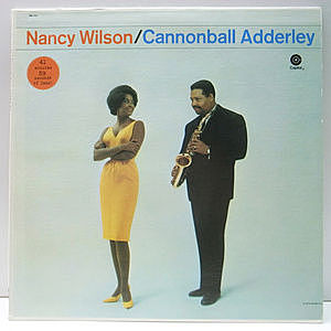 レコード画像:NANCY WILSON / CANNONBALL ADDERLEY / Nancy Wilson / Cannonball Adderley Quintet