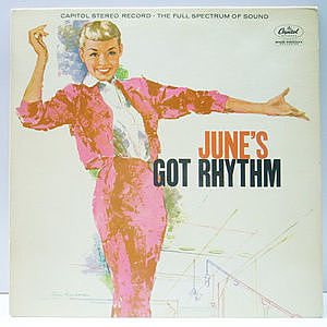 レコード画像:JUNE CHRISTY / June's Got Rhythm
