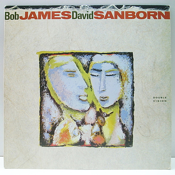 レコードメイン画像:美品《CRC, Club Edition》USオリジナル BOB JAMES, DAVID SANBORN Double Vision ('86 Warner) Al Jarreau, Eric Gale, Marcus Miller 他