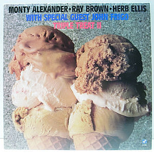 レコード画像:MONTY ALEXANDER / RAY BROWN / HERB ELLIS / JOHN FRIGO / Triple Treat II