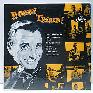レコード画像:BOBBY TROUP / Bobby Troup!