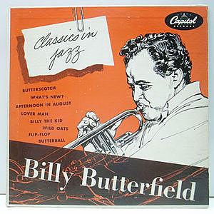 レコード画像:BILLY BUTTERFIELD / Classics In Jazz
