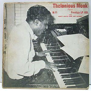 レコード画像:THELONIOUS MONK / Thelonious Monk Plays