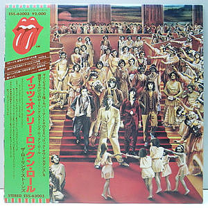 レコード画像:ROLLING STONES / It's Only Rock 'N Roll