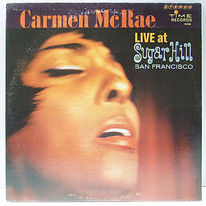 レコード画像:CARMEN McRAE / Live At Sugar Hill San Francisco