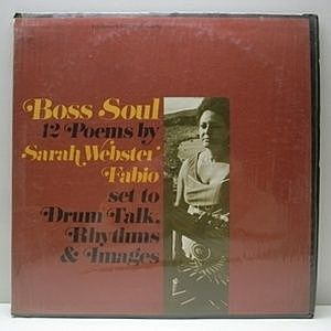 レコード画像:SARAH WEBSTER FABIO / Boss Soul